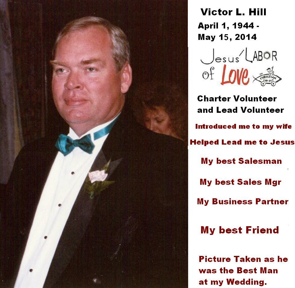 Victor L. Hill April 1, 1944 – May 15, 2014