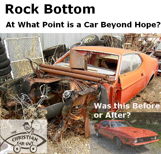 Rock Bottom: At What Point Is A Car Beyond Hope?