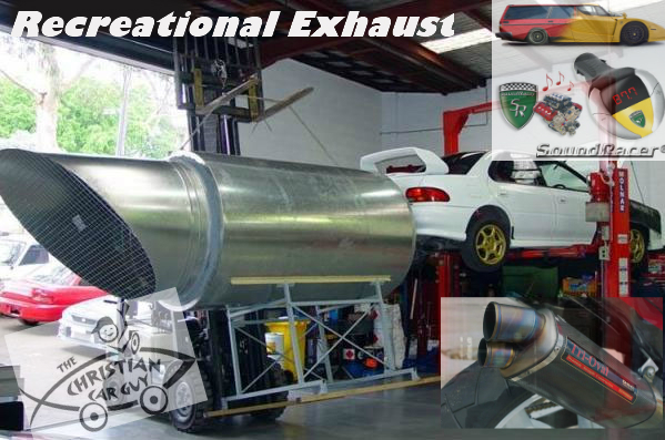 Recreational Exhaust (Loud Mufflers)