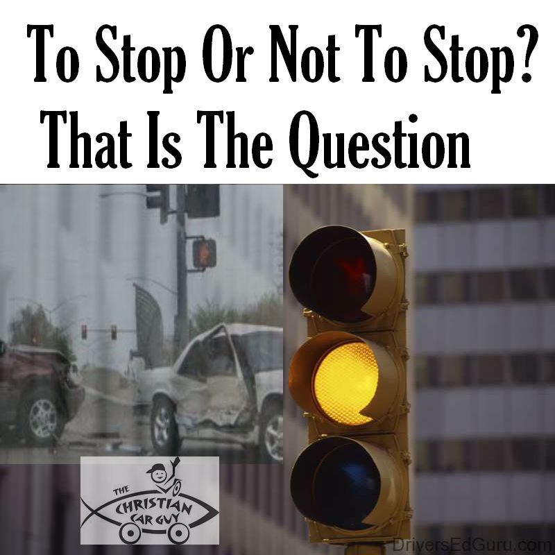To Stop Or Not To Stop?