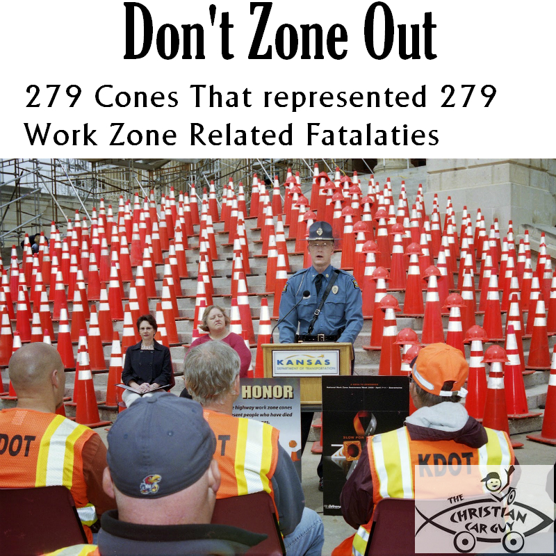 Don't Zone Out Or It Could Be Your Rear End