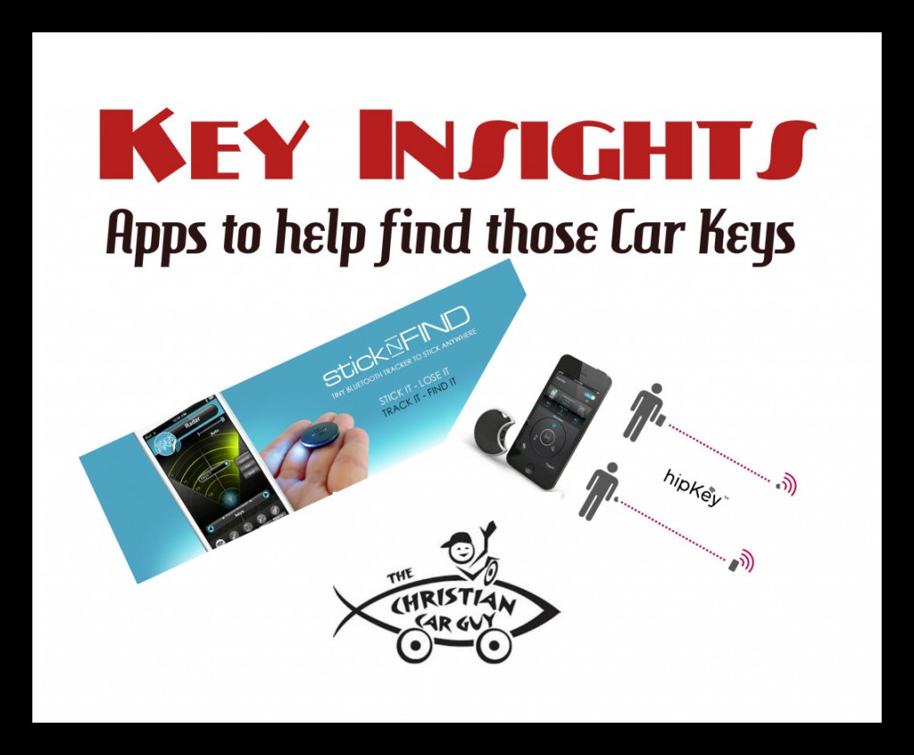 Key Insights (A Couple Apps to Help Find Your Keys)