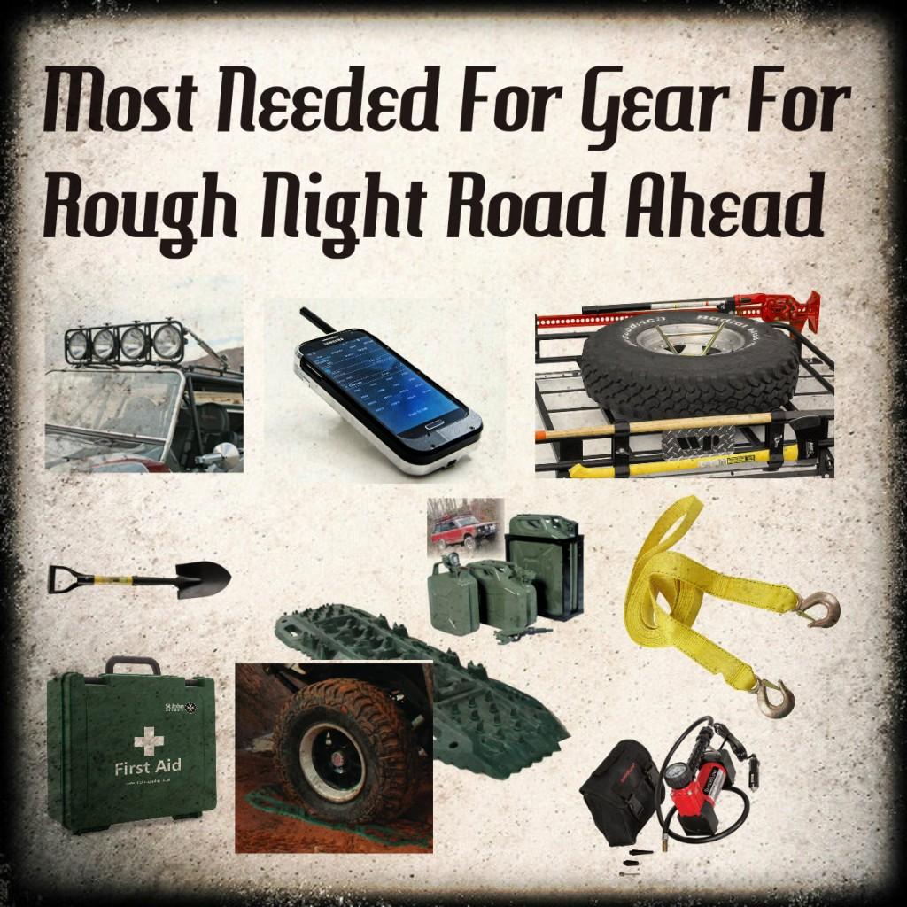 Top Ten List of Gear For Rough Night Road (Glow In The Dark)