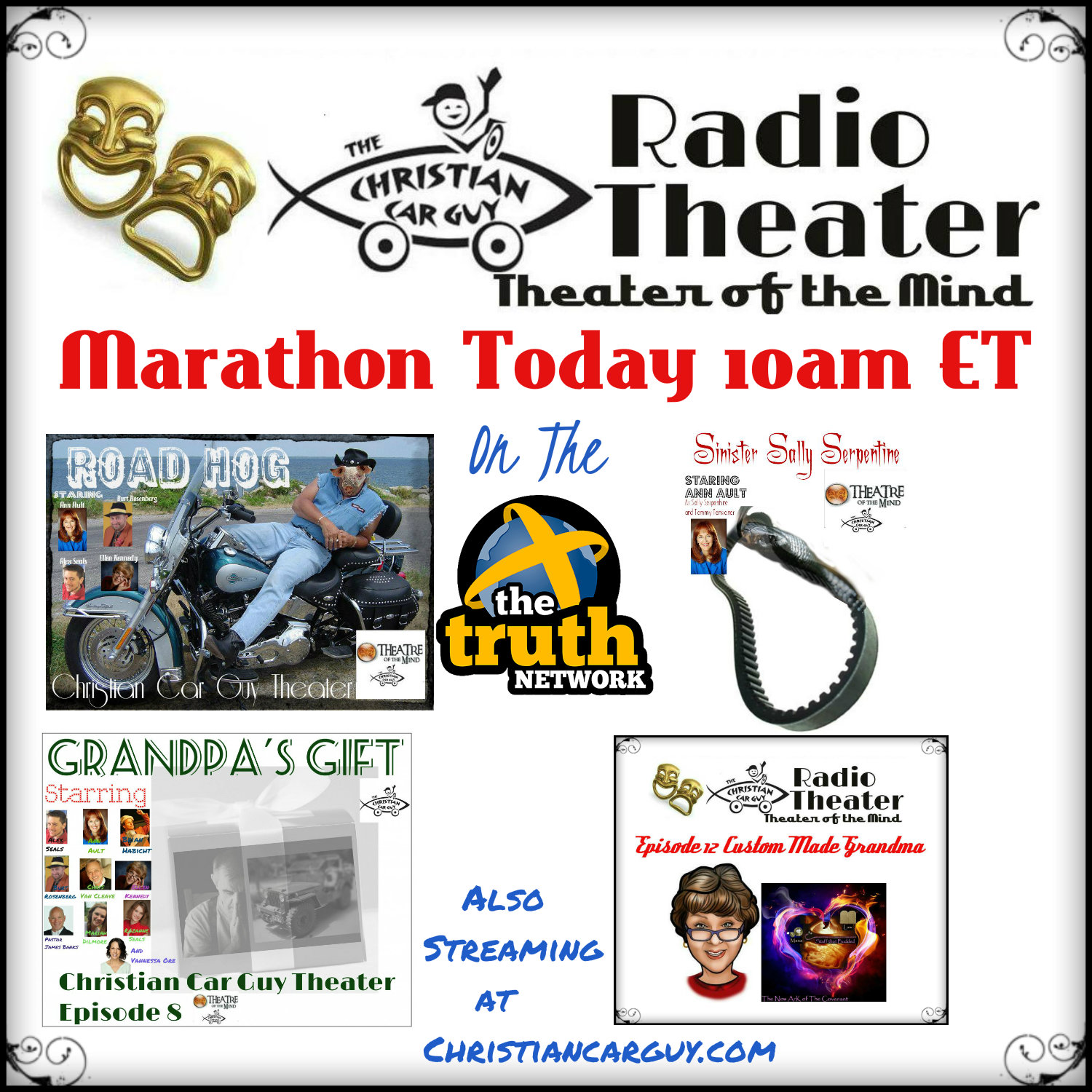 Another Christian Car Guy Theater Marathon January 23rd 2016