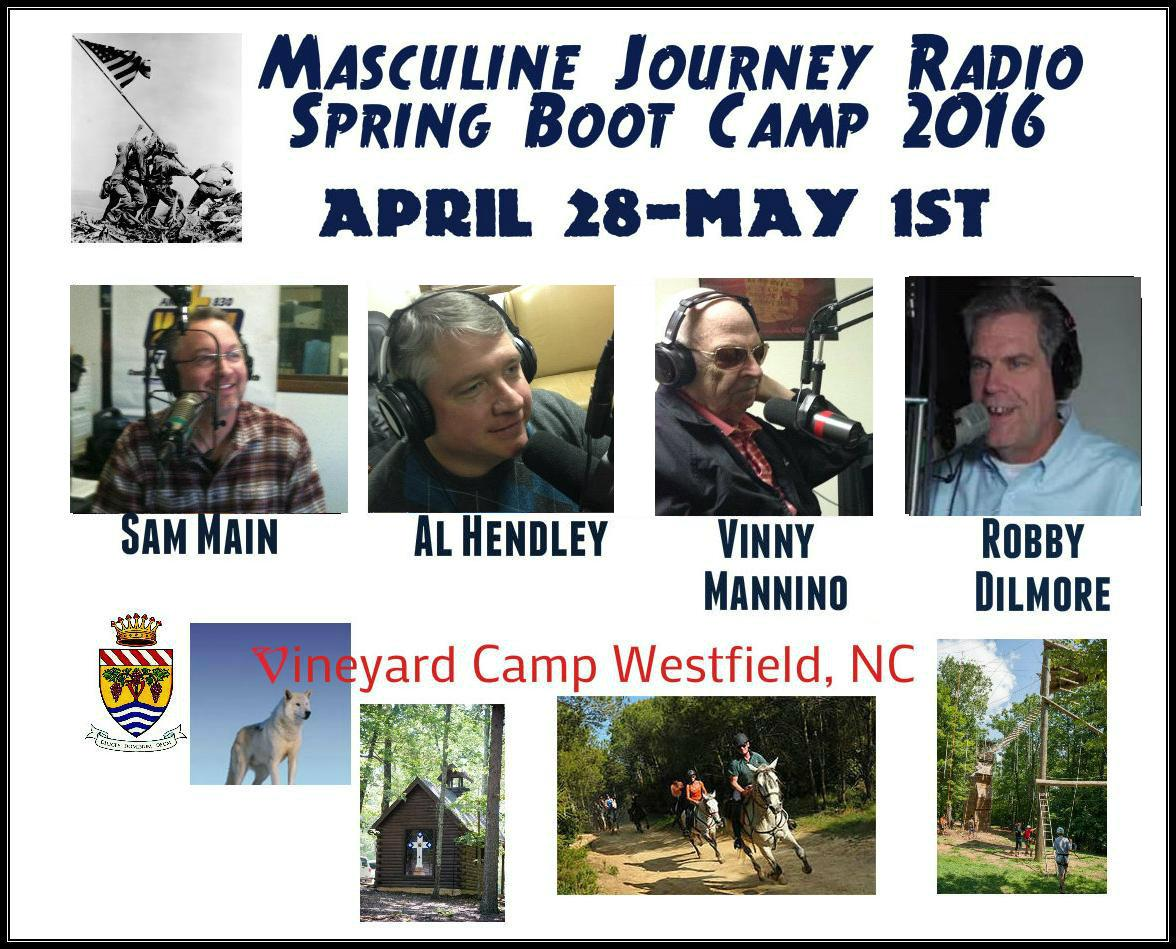 Join Me At The Masculine Journey Boot Camp April 28-May 1st