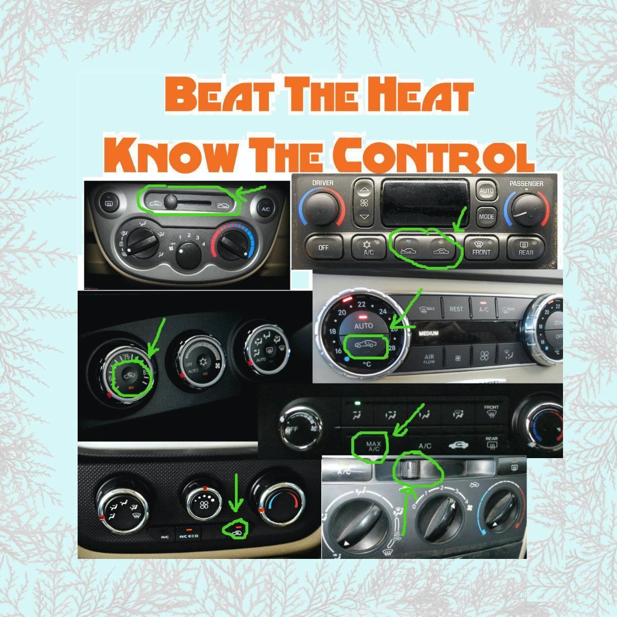 Beat The Heat by Knowing Your AC Controls