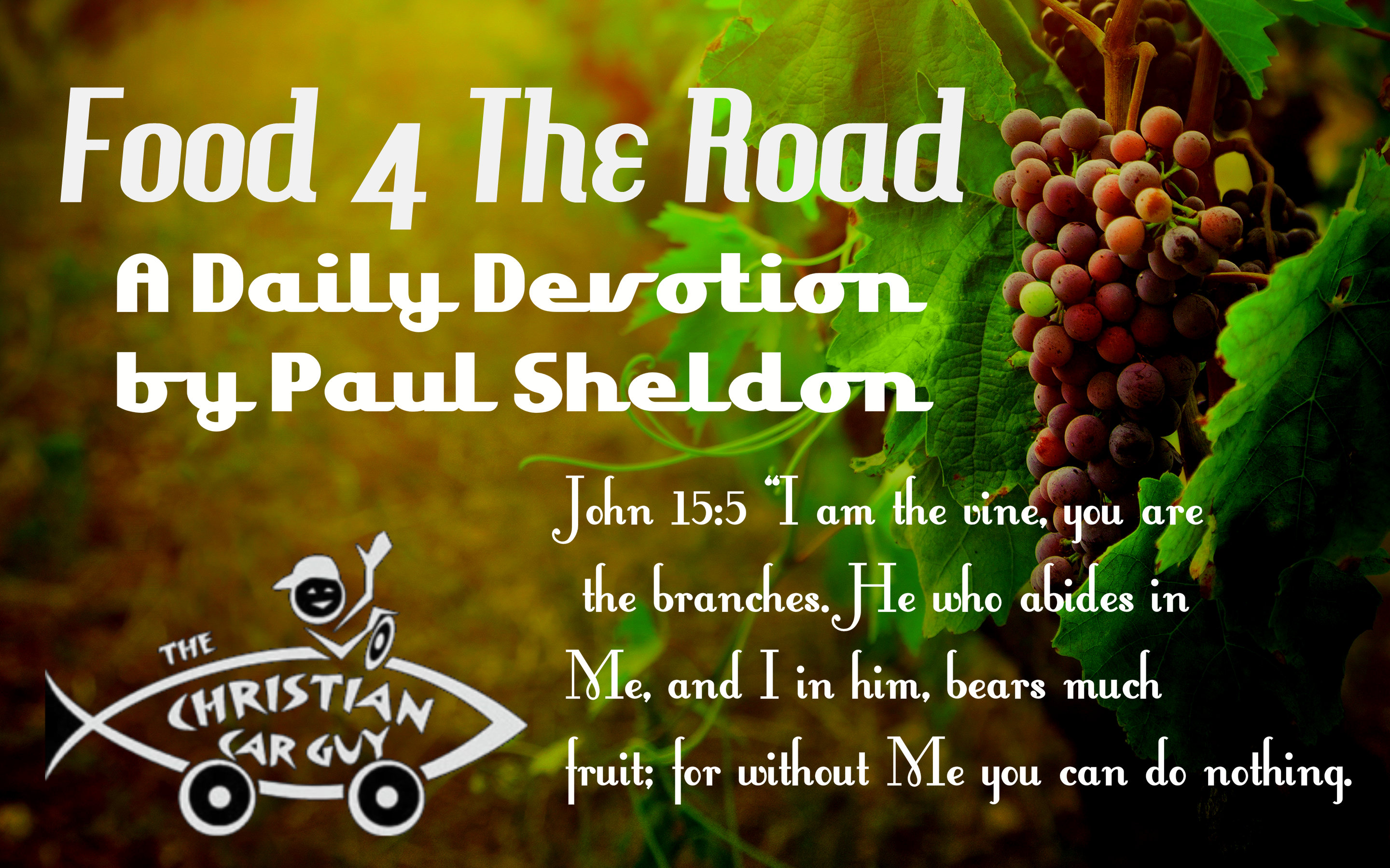 Food 4 The Road a daily devotion by Paul Sheldon