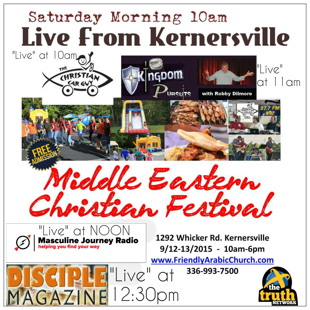 """LIVE ON LOCATION TODAY"" Middle Eastern Christian Festival"