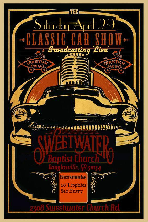Join Us Live Saturday April 29th Car Show In Atlanta Ga.