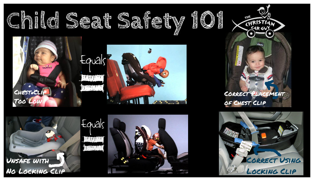 Child Seat Safety 101 – Two Common Mistakes