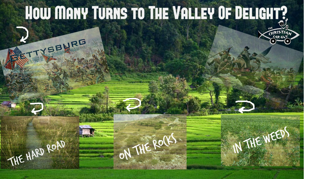 How Many Turns to The Valley Of Delight?
