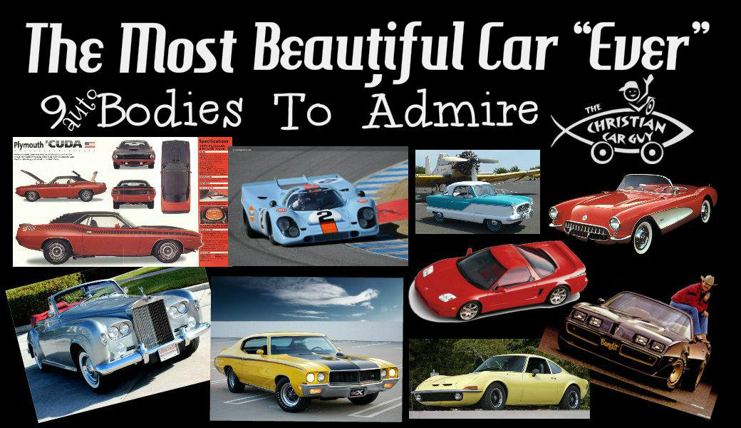 "The Most Beautiful Car ""Ever"" 9 (auto) Bodies To Admire"