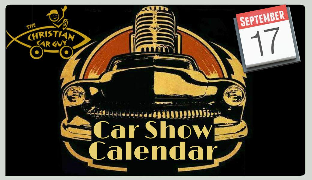 Car Show Calendar September 2017