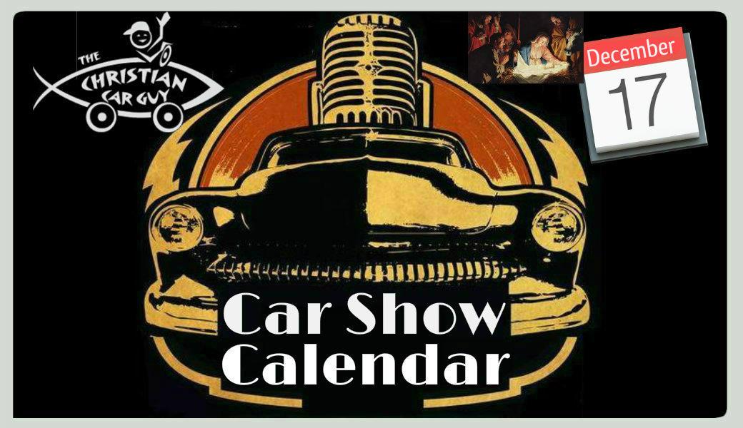Car Show Calendar December 2017