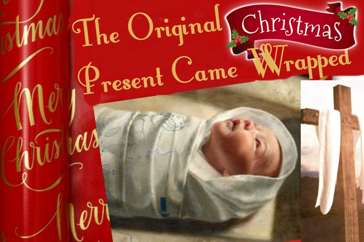 The Gift Of Christmas Present (GET YOUR SWADDLE ON)