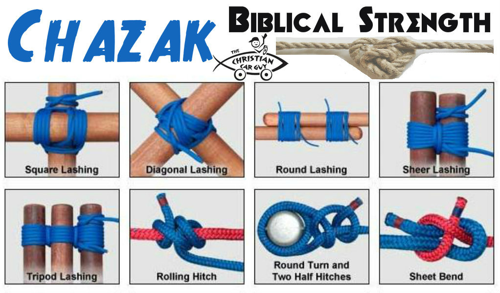 Chazak Biblical Strength and Seat Belts