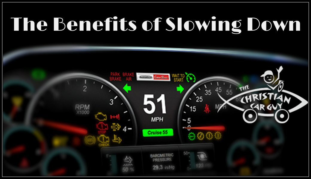 The Benefits of Slowing Down