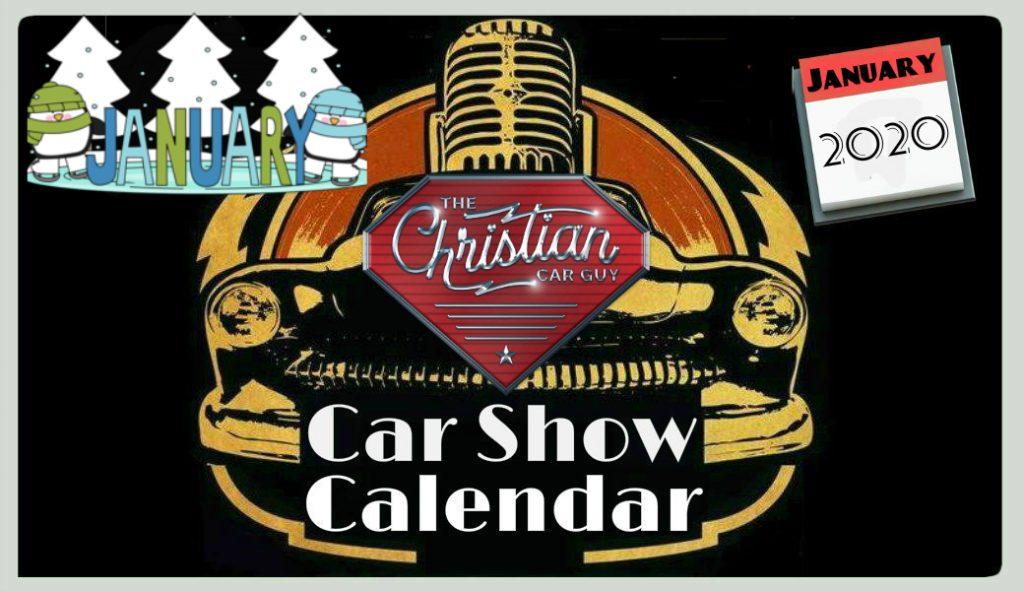 Car Show Calendar January 2020